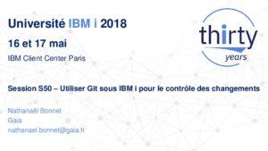 Icon of S50 - Utiliser GIT Sous IBM I Pour Le Contrôle Des Changements