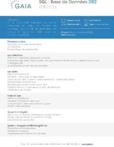 Icon of DB2200 SQL Base De Donnees DB2