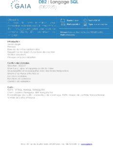 Icon of DB2225 DB2 Langage SQL
