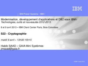 Icon of S22-Les API De Cryptographie