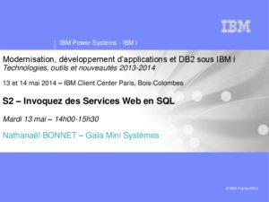 Icon of S2 Invoquez Des Services Web En SQL