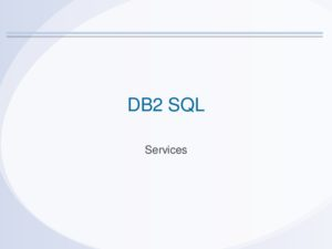 Icon of DB2 SQL-Services